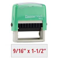 #9011 Premier Mark Self-Inking Stamp - Mint Mount