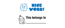 Stock Teacher Stamps