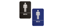 "ADA105_205 - Men ADA Compliant Sign, 6"" x 9"""