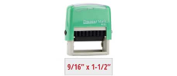 PM9011M - #9011 Premier Mark Self-Inking Stamp - Mint Mount