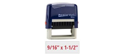 PM9011RB - #9011 Premier Mark Self-Inking Stamp - Royal Blue Mount