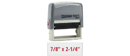 PM9013G - #9013 Premier Mark Self-Inking Stamp - Gray Mount