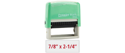 PM9013M - #9013 Premier Mark Self-Inking Stamp - Mint Mount