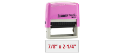 PM9013P - #9013 Premier Mark Self-Inking Stamp - Pink Mount