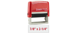 PM9013R - #9013 Premier Mark Self-Inking Stamp - Red Mount