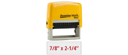 PM9013Y - #9013 Premier Mark Self-Inking Stamp - Yellow Mount