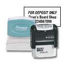 Bank Deposit Stamps