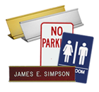 Name Plates & Signs