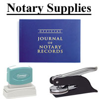 Texas Notary Stamps & Supplies