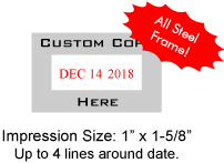 COSCO-3160D - Cosco 3160 Date Stamp