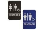 "ADA103_203 - Unisex ADA Compliant Sign with Wheelchair, 6"" x 9"""