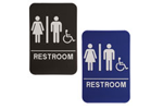 "ADA104_204 - Unisex ADA Compliant Sign, 6"" x 9"""