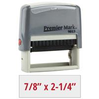 PM9013G - #9013 Premier Mark Self-Inking Stamp - Gray Mount