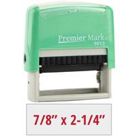 PM9013M - #9013 Premier Mark Self-Inking Stamp - Mint Mount