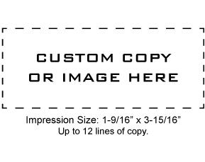 XSN27 - N27 Xstamper Pre-Inked Stamp